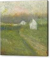 The Road To Jesse James Farm Canvas Print