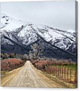 The Road To Soldier Creek Canvas Print