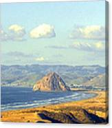 The Rock At Morro Bay Canvas Print