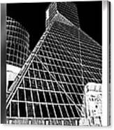 The Rock Hall Cleveland Canvas Print