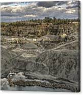 The Rock Quarry Canvas Print