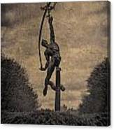 The Rocket Thrower Canvas Print