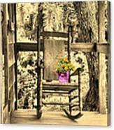 The Rocking Chair Canvas Print