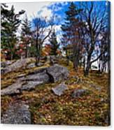 The Rocks Above Eagle Bay IIi Canvas Print