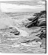 The Rocky Coast Canvas Print