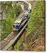 The Rocky Mountaineer Train Canvas Print