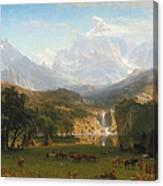 The Rocky Mountains Landers Peak Canvas Print