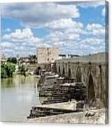 The Roman Bridge Of Cordoba  Canvas Print