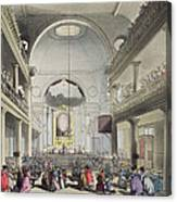The Roman Catholic Chapel, Lincolns Inn Canvas Print