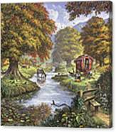 The Romany Camp Canvas Print