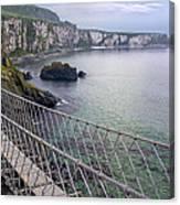 Rope Bridge Northern Ireland Canvas Print