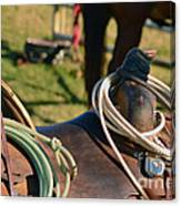 The Ropin Rig Canvas Print