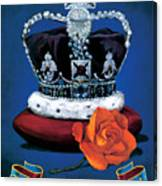 The Rose & Crown Canvas Print