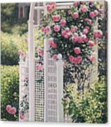 The Rose Arbor The Wauwinet Canvas Print