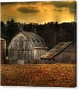 The Rose Farm Canvas Print