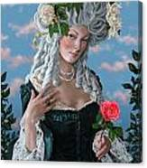 The Rose Of Marie Antoinette Canvas Print