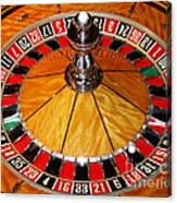 The Roulette Wheel Canvas Print