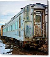 The Roundhouse Evanston Wyoming Dining Car - 1 Canvas Print