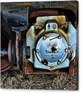 The Roundhouse Evanston Wyoming Dining Car - 3 Canvas Print
