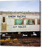 The Roundhouse Evanston Wyoming Dining Car - 5 Canvas Print