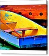 The Row Boat Canvas Print