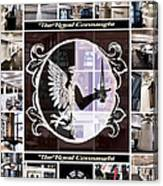 The Royal Connaught Crest Photo Collage Canvas Print