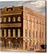 The Royal Couborg Theatre, 1826 Canvas Print