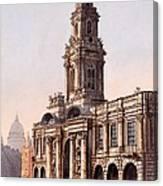 The Royal Exchange, 1816 Canvas Print