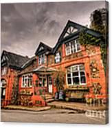 The Royal Oak At Dunsford Canvas Print