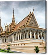 The Royal Palace And Silver Pagoda In Canvas Print