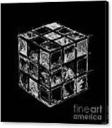 The Rubik's Cube Canvas Print