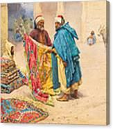 The Rug Merchant Canvas Print