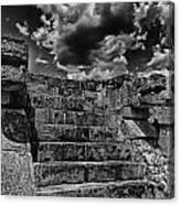 The Ruins Of Chichen Itza V2 Canvas Print
