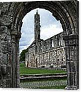 The Ruins Of St Andrews Cathedral Canvas Print