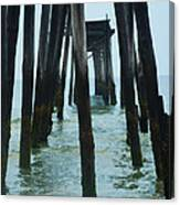The Ruins Of The 59th Street Pier  Canvas Print