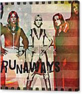 The Runaways - 1977 Canvas Print