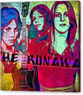 The Runaways - Up Close Canvas Print