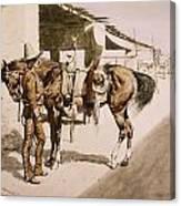 The Rural Guard Mexico Canvas Print