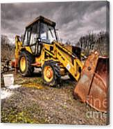 The Rusty Digger Canvas Print