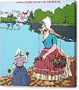 The Sacramento River Canvas Print