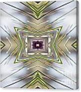 The Sacred Pine Mandala Yantra Canvas Print