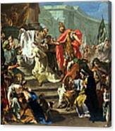 The Sacrifice Of Jephthahs Daughter Canvas Print