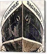 The Sagamore Dry Dock Canvas Print