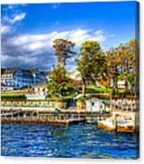 The Sagamore Hotel On Lake George Canvas Print