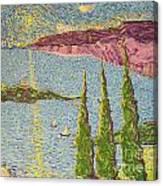 The Sailing Cove Canvas Print