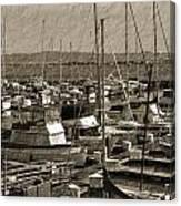 The Sailing Pier Canvas Print