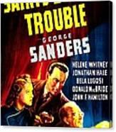 The Saints Double Trouble, Us Poster Canvas Print