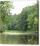 The Salt Fork River Canvas Print