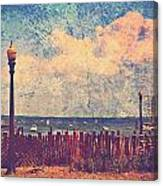 The Salty Air Sea Breeze In Her Hair Iv Canvas Print