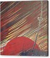 The Samurai's Last Stand Canvas Print